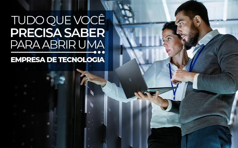 Abrir Uma Empresa De Tecnologia