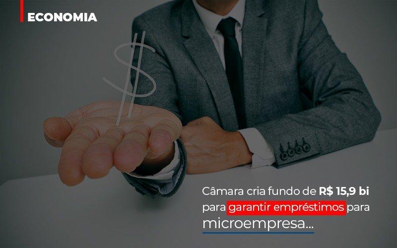 Camara Cria Fundo De Rs 15 9 Bi Para Garantir Emprestimos Para Microempresa - Contabilidade Na Mooca - SP | Confidence Contabilidade